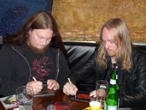 Jonas Renkse & Anders Nyström (Katatonia)
