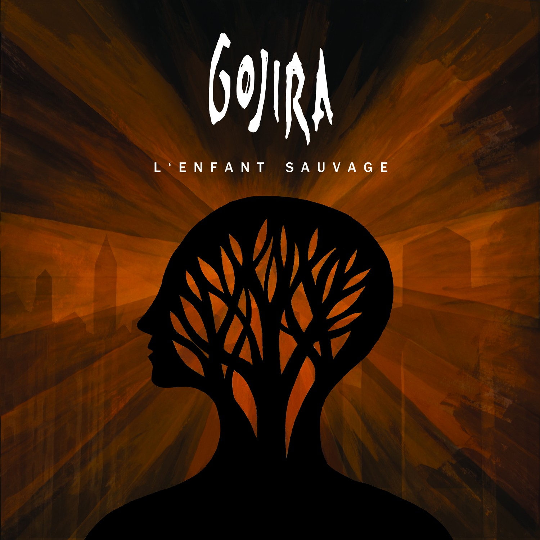 """Pochettes d'albums """"jumelles"""" Gojira-Enfant-Sauvage"""