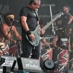 Sepultura et les Tambours du Bronx