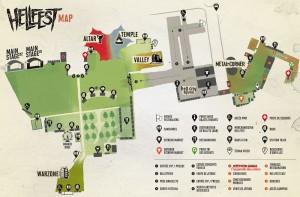 Plan Hellfest 2014