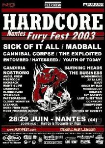 Fury Fest 2003