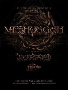 Meshuggah - Decapitated - CB Murdoc