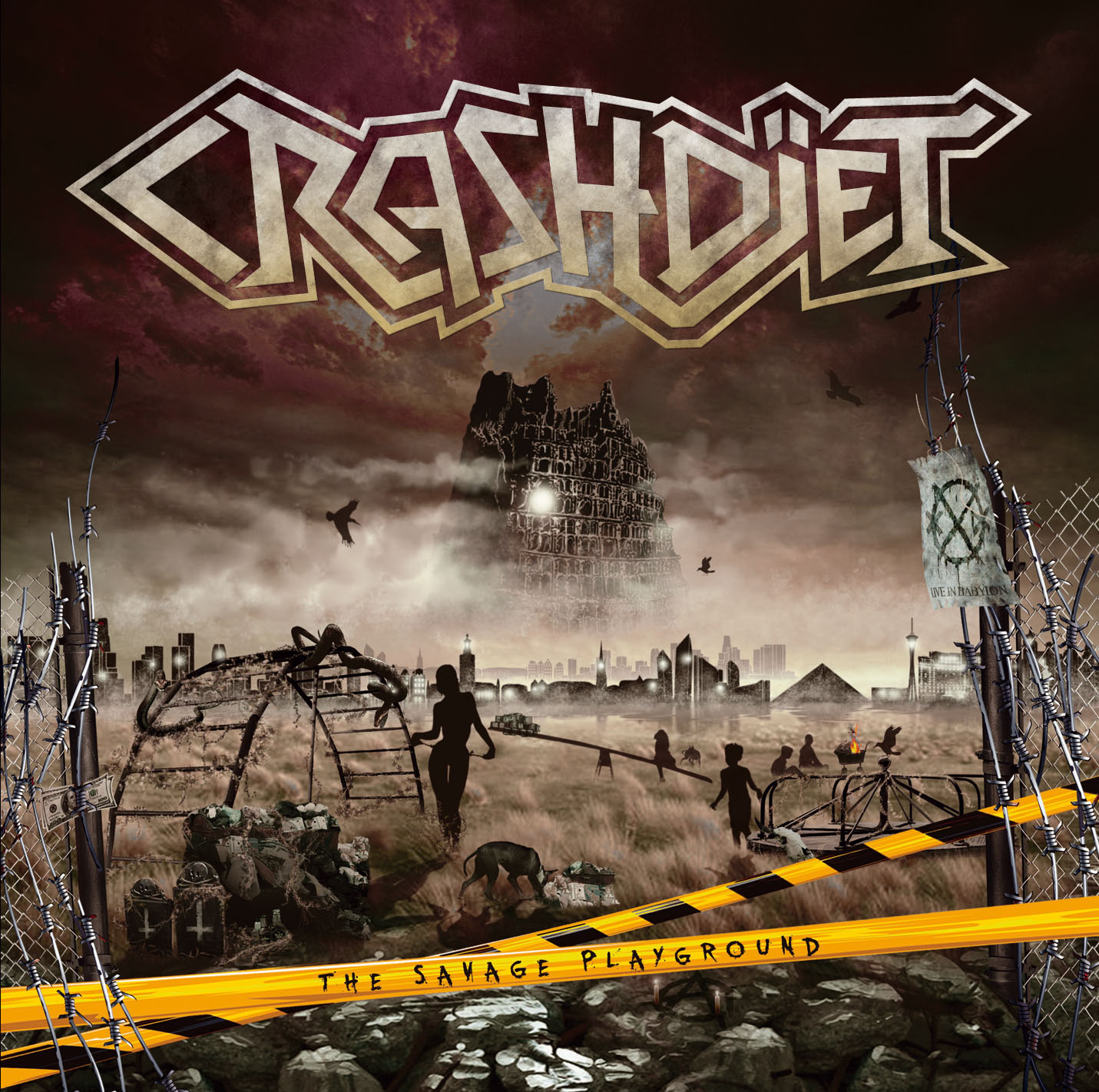 Crashdïet - The Savage Playground