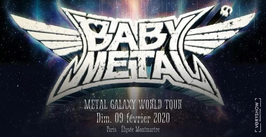 Babymetal - Elysée Montmartre 2020