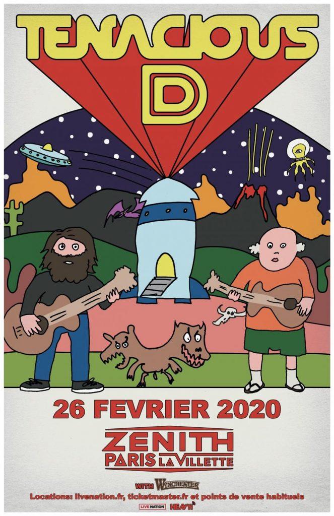 Tenacious D Paris 2020