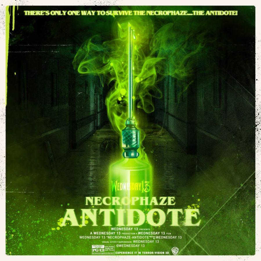 Wednesday 13 - Necrophaze: Antidote EP